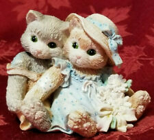 Vintage 1993 Calico Kittens Friendship is a Warm Feeling Zora and Carl Pristine