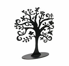 Metal Jewelry Earrings Bracelets Necklaces Tree Stand Organizer Holder Display