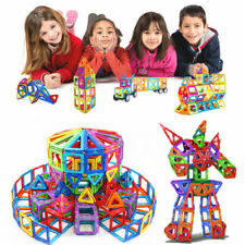 141pcs Child DIY 3D Magnetic Blocks Multicolours Construction Building Toy Block