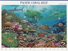 Nature In America USPS Stamps Sheet MNH Scott 3831 Pacific Coral Reef 10x37