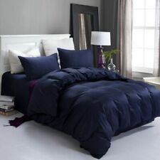 COMFORTER SOLID 100% EGYPTIAN COTTON ALL SIZE AVAILABLE IN NAVY BLUE COLOR