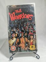 THE WARRIORS SONY PSP ROCKSTAR GAMES COMPLETE WITH MANUAL