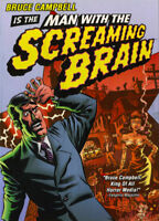 Man With The Screaming Brain (DVD, 2005, Widescreen) Bruce Campbell BRAND NEW!