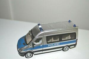 """SIKU - #2313 MERCEDES POLICE TEAM VAN """"POLIZEI"""" - 1:50 Scale Unboxed"""