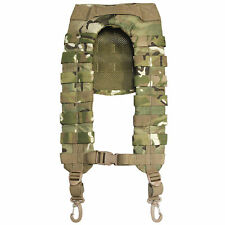 Bulldog 4 Point MOLLE Military Webbing Yoke Harness with Clips MTP Multicam NEW