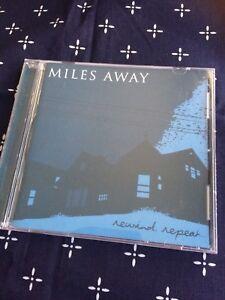 MILES AWAY REWIND REPEAT CD AUSTRALIAN HARDCORE PUNK RESIST RECORDS MINDSNARE