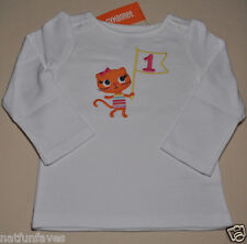Gymboree girl first birthday #1 shirt top size 18-24 months NWT