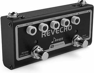 Donner 2 model Guitar Effect Pedal Tap Tempo Delay Revecho Reverb 3 delay effect