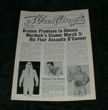 Wrestling Program St. Louis MO 1978 Ric Flair Dick the Bruiser NWA
