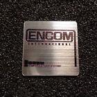 Encom International Corporation Tron Logo Label Decal Case Sticker Badge 473e