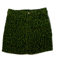 Hartstrings Girls Skirt Corduroy Skort Stretch Adjustable Green Bottoms Size 14