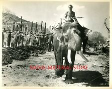 "Jock Mahoney Tarzan Goes To India Original 8x10"" Photo #M2515"