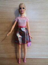 Barbie Rubia Hermosa en un sueño Rosa Vestido Fashionistas. y Accesorios