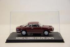 SIMCA 1200S COUPÉ 1967 ALTAYA 1/43 NEUF EN BOITE
