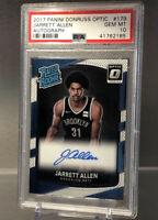 2017-18 PANINI OPTIC AUTOGRAPH JARRETT ALLEN RC ROOKIE SP PSA 10 #179 🏀📈🔥