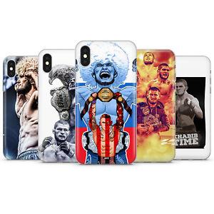 KHABIB NURMAGOMEDOV UFC PHONE CASES & COVERS FOR IPHONE 5 6 7 8 X 11 SE 12 PRO
