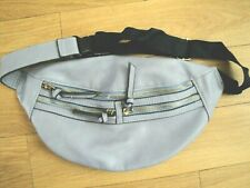 BAG BUM BELT ACCESSORIZE BLUE LADIES GIRLS BELT ADJUSTABLE
