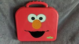 Sesame Street Elmo's On The Go Alphabet Letters With Carry Case By Hasbro