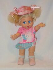 "13"" ""So Surprise Suzie"" Galoob Baby Face Doll #2 Wearing Laura's Outfit"