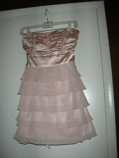 Pastel Pink Strapless Dress