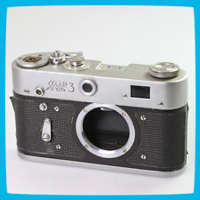 1986 old vintage FED 3 Soviet Russian CCCP USSR 35mm Film Rangefinder Camera