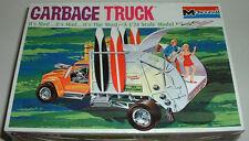 GARBAGE TRUCK Custom Hot Rod Model Kit w/ 3 Mod Figures & 4 Surf Bds New Sealed