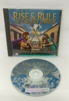 Rise and Rule of Ancient Empires (PC, 1996) Video Game Disc in Jewel Case Sierra