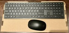 Genuine HP Slim Wireless Keyboard & Mouse New