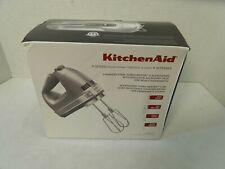 NEW KitchenAid KHM926CU 9-Speed Digital Hand Mixer with Turbo Beater II Silver