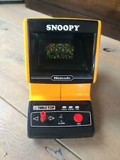 Nintendo Tabletop Snoopy Game & Watch table top