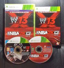 The 2K Sports Collection WWE 13 + NBA 2K13 (Microsoft Xbox 360) Xbox 360 Game
