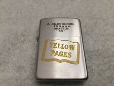 1953 Yellow Pages Zippo Lighter