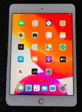 Apple iPad mini 4 128GB, Wi-Fi, 7.9in - White/Silver with Case