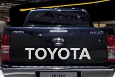 TOYOTA HILUX TAILGATE DECAL *CHOICE OF COLOURS* Sticker 2004 Year onwards