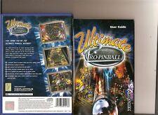 Ultimate PRO PINBALL tablas de Pinball PLAYSTATION 2 PS2