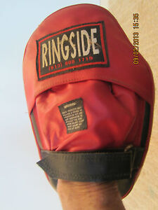 RINGSIDE BOXING TRAINER, PUNCH CATCHING GLOVE