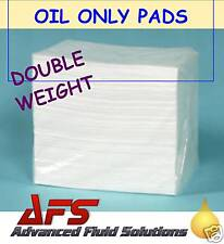 100 x OIL & FUEL ONLY SPILL ABSORBENT PADS BILGE MARINE