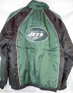 NFL New York Jets Adult Reversible Jacket size Large by GIII