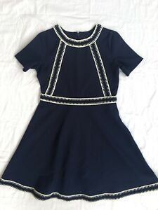 Bardot Junior Navy Blue Dress Size 12