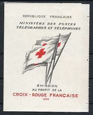 """FRANCE CARNET CROIX ROUGE 2004 """" TIMBRE ENFANT A L'OIE 1955 """" NEUF TTB  P521J"""