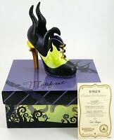 Shanghai Disney Resort Fashionably Disney Collection Maleficent Shoe LE 500 New