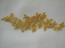 Floral lace applique /dress making sewing lace motif is for sale.Various colours