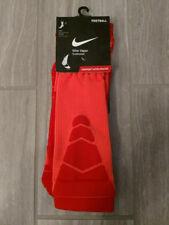 NEW MENS NIKE VAPOR CUSHIONED CREW ORANGE FOOTBALL SOCKS SHOE SIZE 12-15