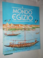 IL MONDO EGIZIO Vallardi 1991 libro di narrativa ragazzi racconto storia
