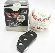 Worth Little League Baseball Rawlings Umpire Indicator Ball Strike Counter Lot