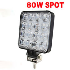 4inch 80W LED Work Offroad Car 4WD Truck Tractor Trailer ATV 4x4 Spot Light Bar