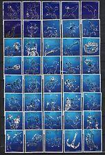 Japan nippon used Sternzeichen Sternbilder Zodiac 1 2 3 und 4 komplett