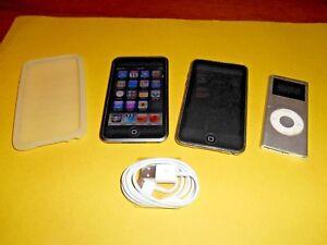 Lot of Apple iPods: A1213 - 8 GB ] A1318 - 32GB ] Nano A1199 4GB] Parts / Repair