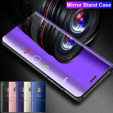 360° Flip Wallet Clear View Mirror Case for Huawei P Smart Y9 2019/Nova 4 Cover