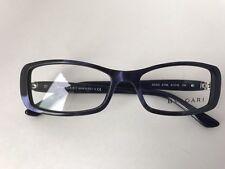 New 100% Authentic BVLGARI Blue/ purple Opal Eyeglasses Frame 4040 5106, Italy